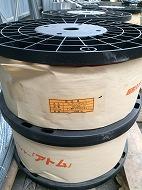 0013R10 オレンジワイヤーアトム(1,000m) (芯線1.5Φ外径2.8Φ)