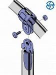 カナメックス 【梱包内容】 ●カナメックス平板 ●ユニバーサル ●ボルト・ナット 根角ボルトはM6×25 ナットは六角ナット